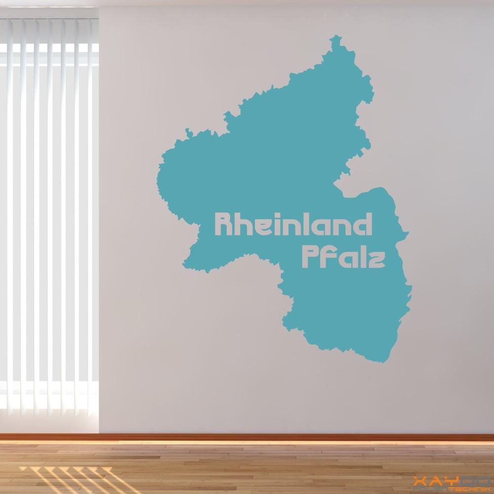 "Wandtattoo ""Rheinland Pfalz"""