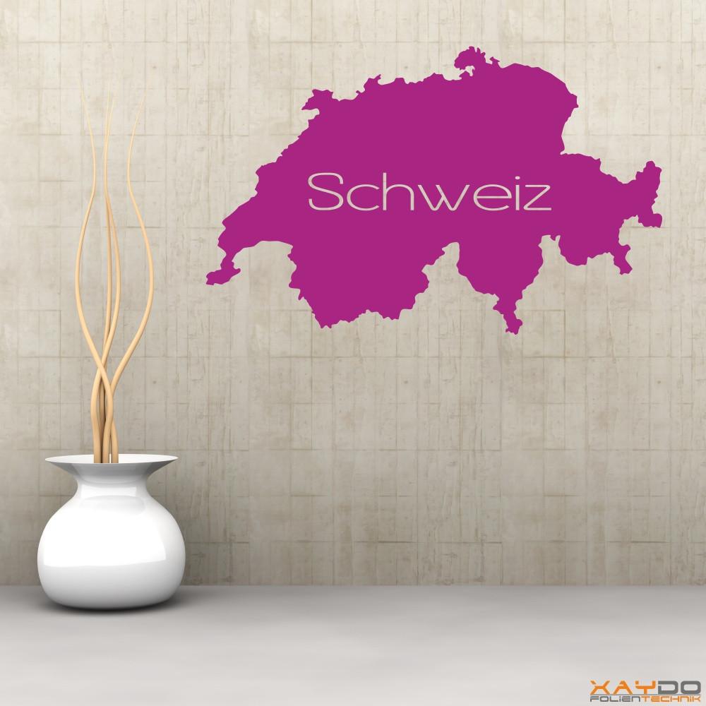 """Wandtattoo """"Schweiz"""""""