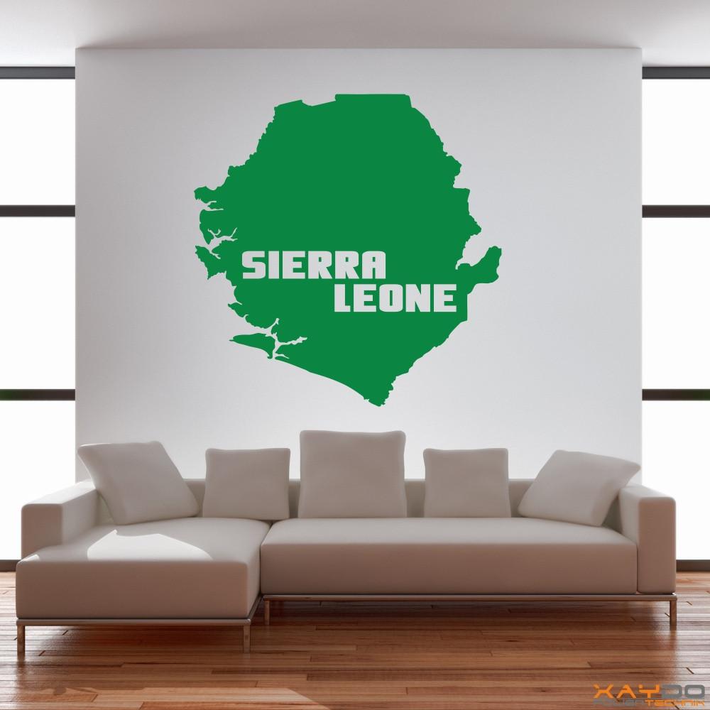 """Wandtattoo """"Sierra Leone"""""""