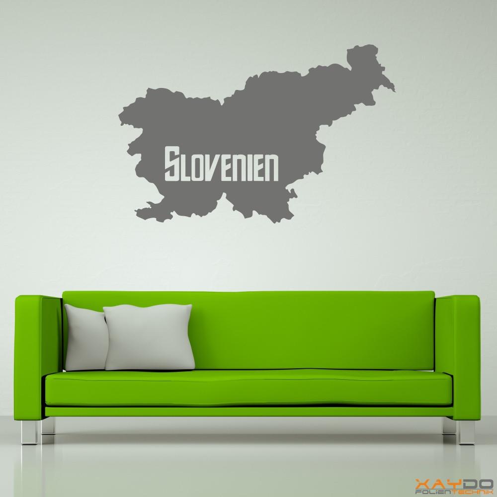 "Wandtattoo ""Slovenien"""