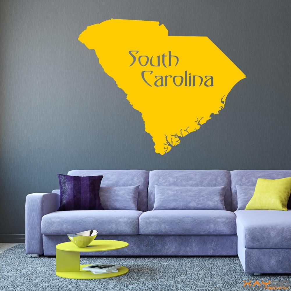 "Wandtattoo ""South Carolina"""