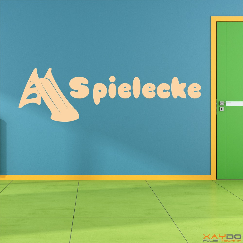 """Wandtattoo """"Spielecke"""""""