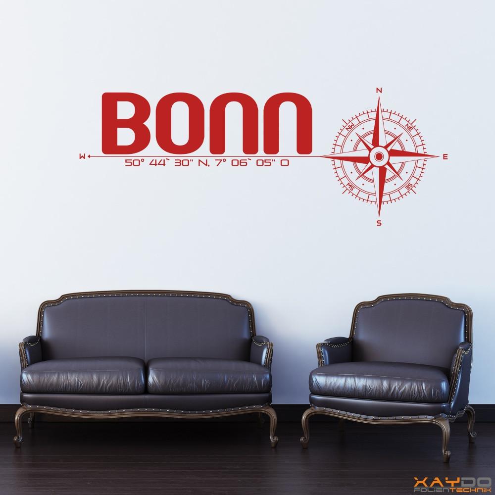 wandtattoo stadt bonn. Black Bedroom Furniture Sets. Home Design Ideas