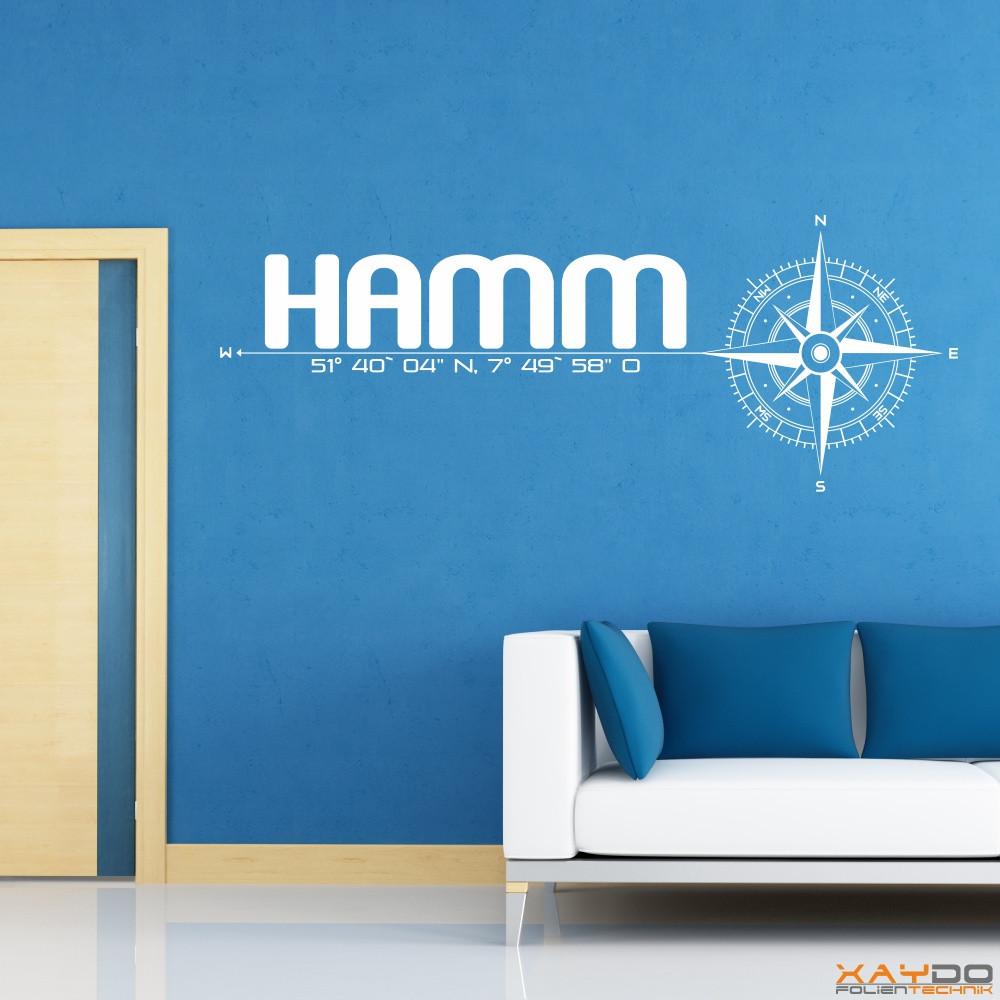 wandtattoo stadt hamm. Black Bedroom Furniture Sets. Home Design Ideas