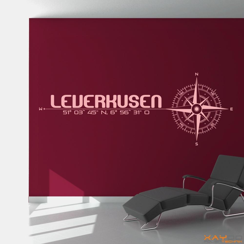 "Wandtattoo ""Leverkusen"""