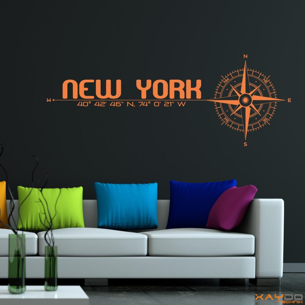 Wunderschön New York Wandtattoo Ideen Von
