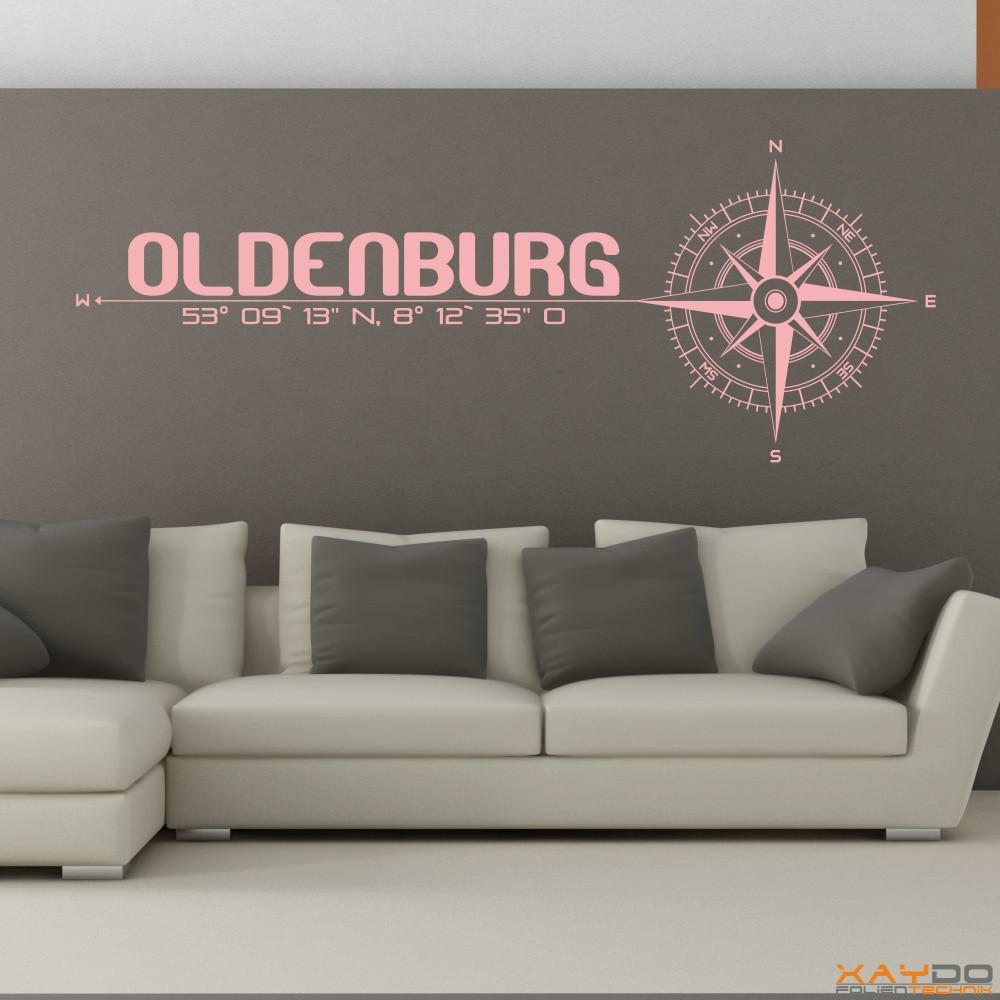 """Wandtattoo """"Oldenburg"""""""