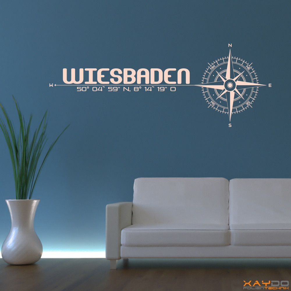 wandtattoo stadt wiesbaden. Black Bedroom Furniture Sets. Home Design Ideas