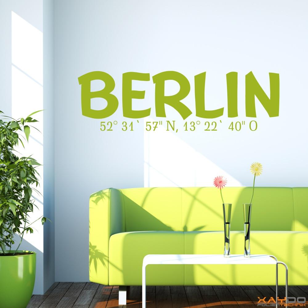 Schön Wandtattoo Berlin Sammlung Von