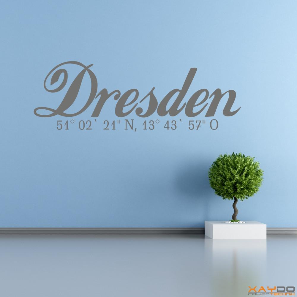 """Wandtattoo """"Dresden"""""""