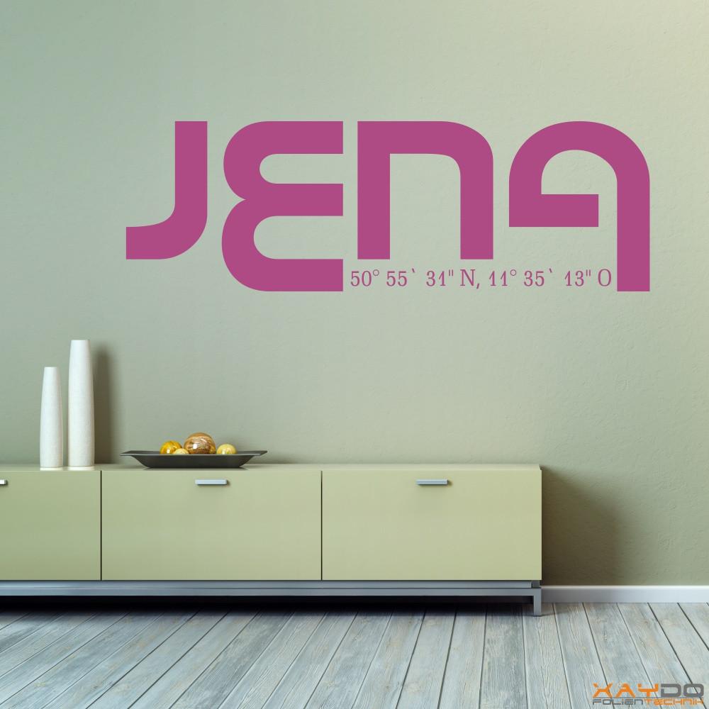 """Wandtattoo """"Jena"""""""