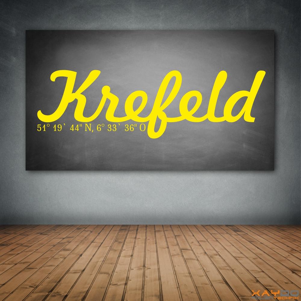 "Wandtattoo ""Krefeld"""