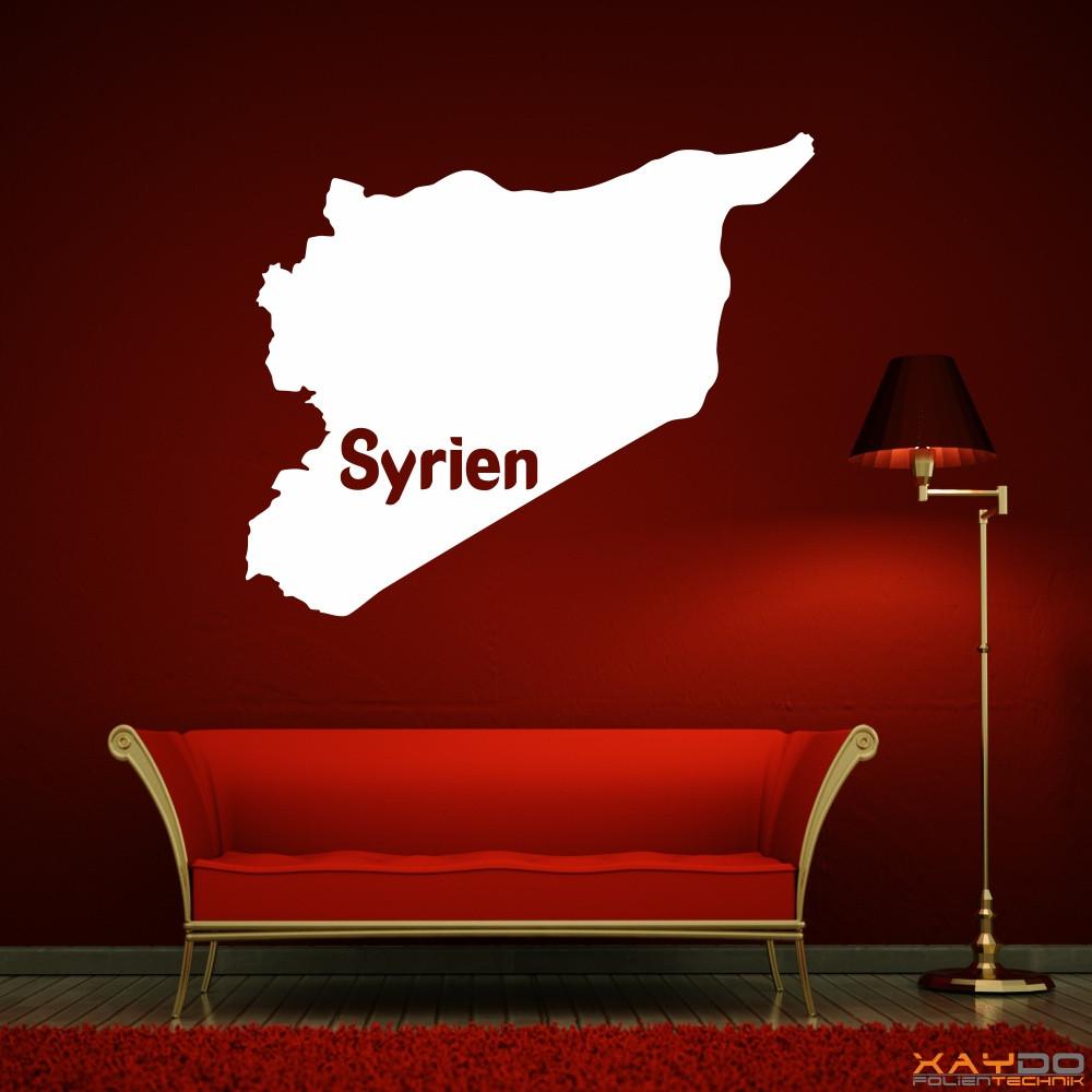 """Wandtattoo """"Syrien"""""""