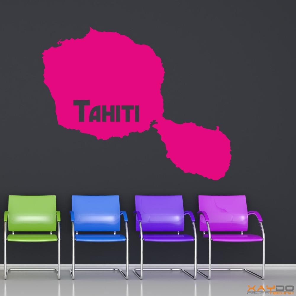 "Wandtattoo ""Tahiti"""