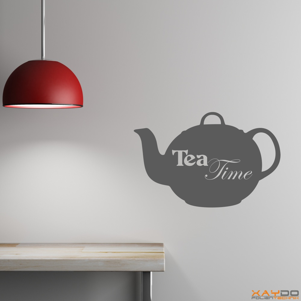 "Wandtattoo ""Tea Time"""