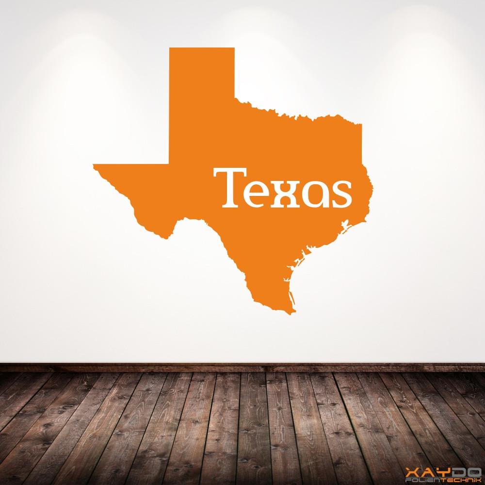 """Wandtattoo """"Texas"""""""