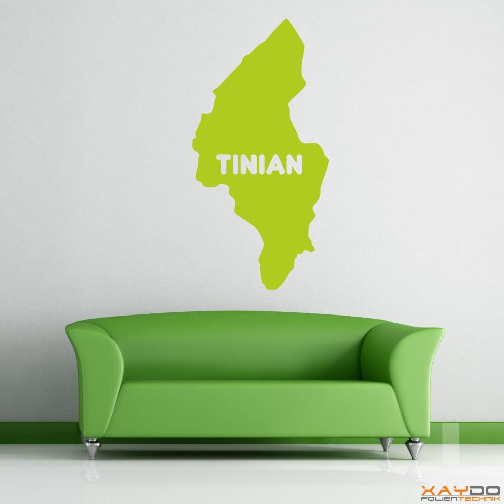 "Wandtattoo ""Tinian"""