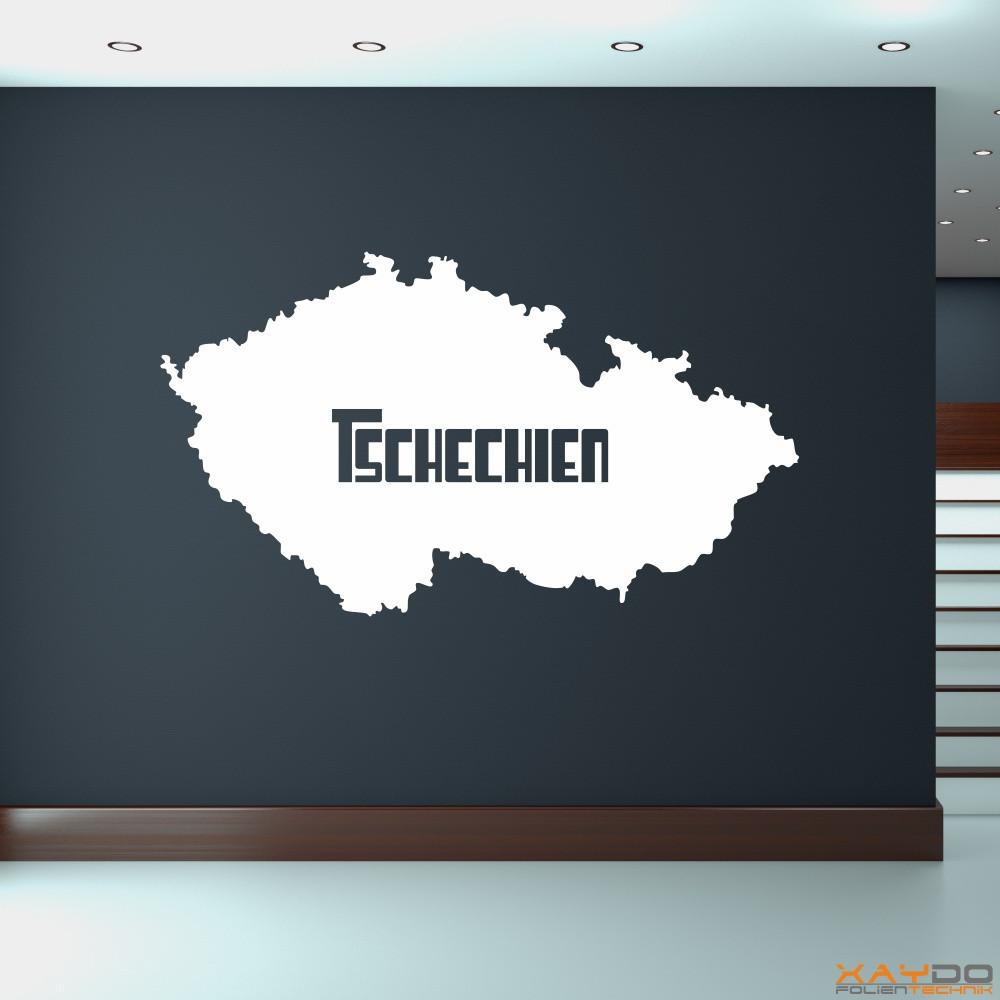 """Wandtattoo """"Tschechien"""""""