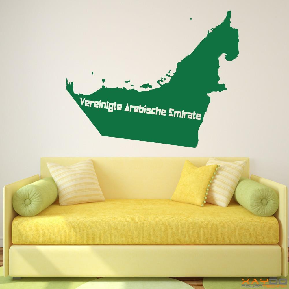 """Wandtattoo """"Vereinigte Arabische Emirate"""""""