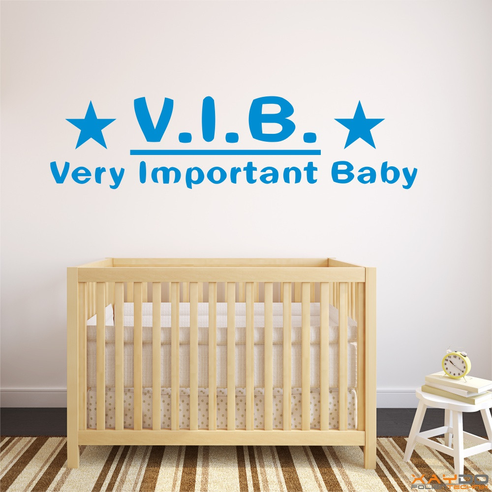 "Wandtattoo ""VIB - Very Important-Baby"""