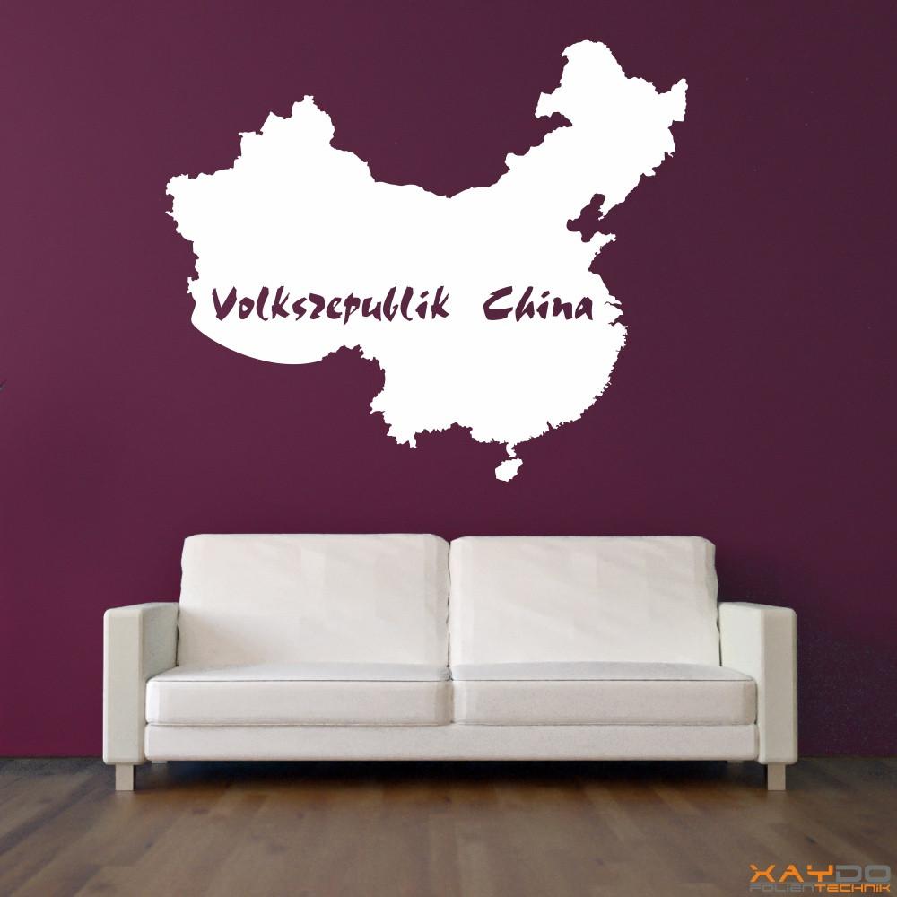 """Wandtattoo """"Volksrepublik China"""""""