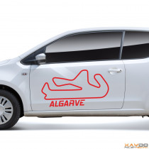 """Autoaufkleber """"Algarve"""""""