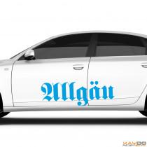 """Autoaufkleber """"Allgäu"""""""