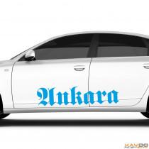 "Autoaufkleber ""Ankara"""