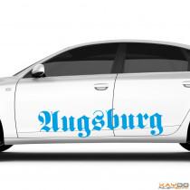 "Autoaufkleber ""Augsburg"""
