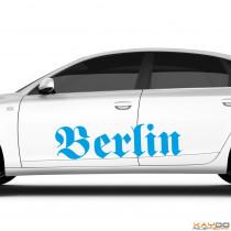"""Autoaufkleber """"Berlin"""""""
