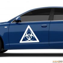 "Autoaufkleber ""Biohazard"""