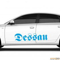 """Autoaufkleber """"Dessau"""""""