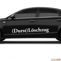 "Autoaufkleber ""(Durst)Löschzug"""