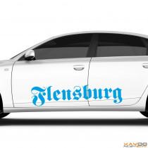 "Autoaufkleber ""Flensburg"""
