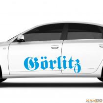 "Autoaufkleber ""Görlitz"""