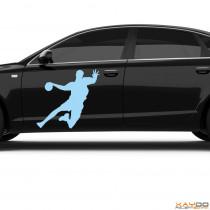 "Autoaufkleber ""Handballer"""