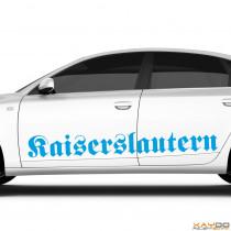 """Autoaufkleber """"Kaiserslautern"""""""