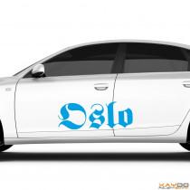 """Autoaufkleber """"Oslo"""""""