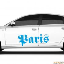 "Autoaufkleber ""Paris"""