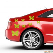 """Autoaufkleber Set """"Schmetterlinge"""""""