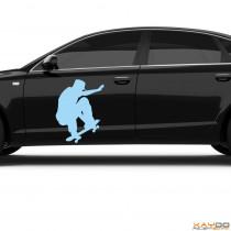 """Autoaufkleber """"Skater"""""""
