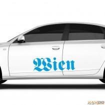 """Autoaufkleber """"Wien"""""""