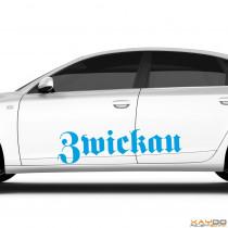 """Autoaufkleber """"Zwickau"""""""