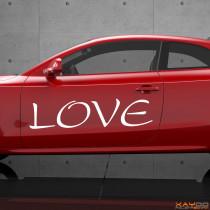 """Autoaufkleber """"Love"""""""