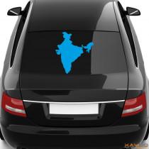 """Heckscheibenaufkleber """"Indien"""""""