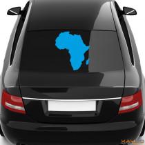 """Heckscheibenaufkleber """"Afrika"""""""