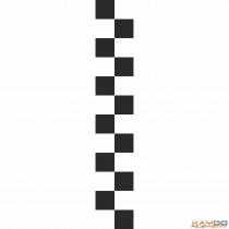 """Rennstreifen """"Flagge A"""" - 2er/16cm"""