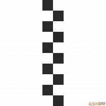 """Rennstreifen """"Flagge A"""" - 2er/20cm"""