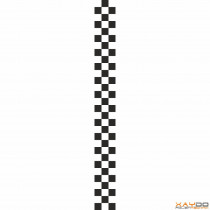 """Rennstreifen """"Flagge A"""" - 3er/10cm"""