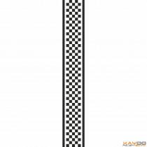 """Rennstreifen """"Flagge B"""" - 5er/15cm"""